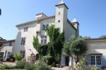 Magnificent chateau with superb views + 3 bed cottage and outbuildings