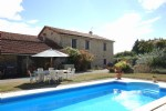 Amazing Value 6 bed rustic stone farmhouse with gite