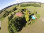 No neighbours. Country house for sale with gite, pool, views,