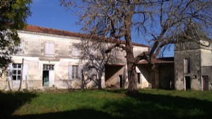 Old farmhouse with pigeon tower, large garden, old houses