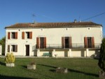 4 bed country house with outbuildings and 1 acre. Near Aubeterre.