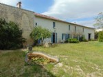 3 bedroom house with convertible attics, many outbuildings and large garden