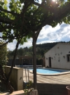 4 bedroom single storey property with garden, views and pool