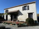 Stone country house 4 bed with 1 bed gite and pool Charente