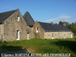 Le Faouet area (56), property with character with its own turret, 3 bedrooms, garage, Land 1 he