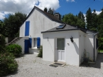Country renovated 1 bedr. house with terrace, garden with chalet and detached garage