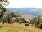 An idyllic and private setting in the center of 20ha of land.