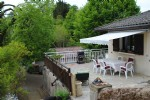 4 bedroom house over basement, set in mature gardens with stunning views