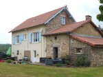 Fully restored country house with gîte and 3 acres