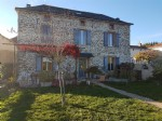 ALBI -25 minutes- Stone house renovated with barn 9350m² with flat land