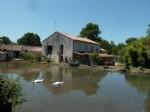Beautiful 5 bedroom property with mill, river and small lakes