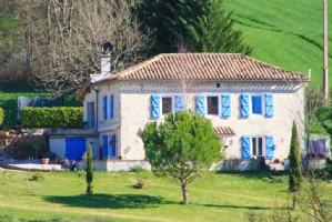 Property with gites and pool