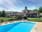 Tarn- Cordes dur Ciel Beautifull property with pool, 7000m² land