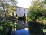 6 bedroom house with old water mill and river frontage