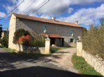 Large stone property with dovecote set up as a gite. Swimming pool. Land 1500 m²