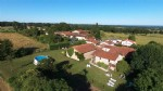 Chirac - House with three gite complex, swmiing pool, private garden and outbuildings.