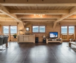 Modern spacious chalet between St Gervais and Megeve