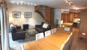 Spacious Duplex Apartment in Samoens