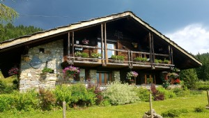 Comfortable Traditional Chalet above Les Gets