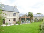 Megrit - stunning stonebuilt property with landscaped gardens and constructible