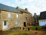 House for sale in plessala (brittany) - pretty terraced stone house with great p