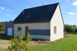 10 mins south of dinan, in a nice village, quiet, attractive modern house with v