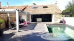 Old stone sheep barn, 215m² living space, 3 bedrooms, swimming pool, large garage, 280m² of