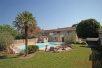 Champagne St Hilaire (86) - Well renovated 4 bed/3 bath family home, heated swimming pool