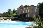 Near Gourdon (Lot) - Superb Maison de Maitre (3 beds) with a second 3 bed house