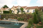 Montbron (Charente) - A fabulous 4 bedroom golf villa for sale overlooking an 18 hole course.