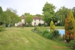 Asnières-sur-Blour (Vienne) - Farmhouse for sale with 8 bedrooms, pool and paddock