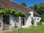 In the Brenne: house with guest cottage and atelier