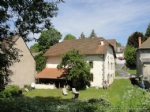 For sale in the Auvergne, renovated village house with cellar and garden.