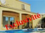 Villa T4 R+1 avec garage et piscine au calme