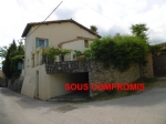 Charming detached property, with garage, garden, views, minutes by foot to Ceret