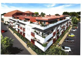 Brand new apartments central Agde.