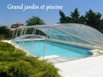 Big garden, big pool and a four bedroom one-storey house included!