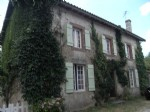 Detached country house with tennis court and gite potential