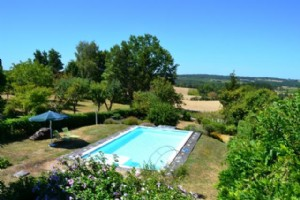 Super character house with pool and gite