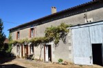 Stone Farmhouse With Attached Barn And 5500m² Of Land. Quiet Location Near Verteuil