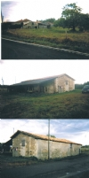 2 barns in need of renovation on a good size plot.
