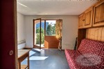 For sale, studio apartment with private garden in the heart of Saint Jean d'Aulps ski resort