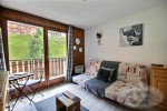 For sale south facing studio flat in the ski resort of Saint Jean d'Aulps