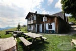 For sale chalet in alpine pasture for residential and commercial use located above the Col de l