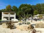 Modern Villa enjoying beautiful views with a luxury swimming pool and pool house / bar