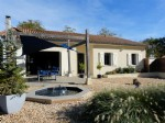 Dordogne – Riberac. Superb Modern Villa with Pool.