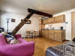 Tastefully updated 2 bedroom apartment within minutes from the Grands Montets