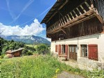 A 239m2 Savoyard farmhouse for renovation, situated 4km from the skiing at Les Carroz.