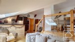 A modern apartment with bags of character, in a converted farmhouse, close to the skiing.