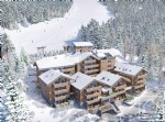 3 bedroom apartment with sauna and balcony, in a new development at the foot of the pistes.